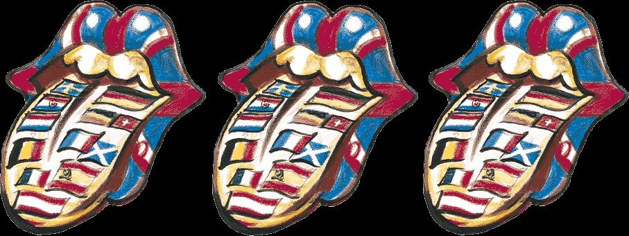 Ronnie Wood's Flag Tongue